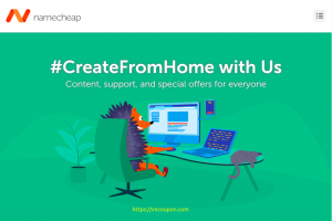 [#CreateFromHome] Namecheap – 节省 优惠98% 域名 (.COM 仅 $5.88每年)- 优惠99% Hosting