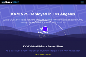 [Flash Sale] RackNerd – 特价机 KVM VPS 最低 $19.50每年 in 洛杉矶