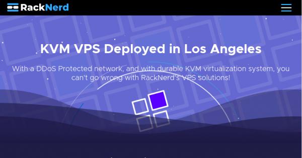 [Flash Sale] RackNerd – 特价机 KVM VPS 最低 $19.50每年 in 洛杉矶 (亚洲优化线路)