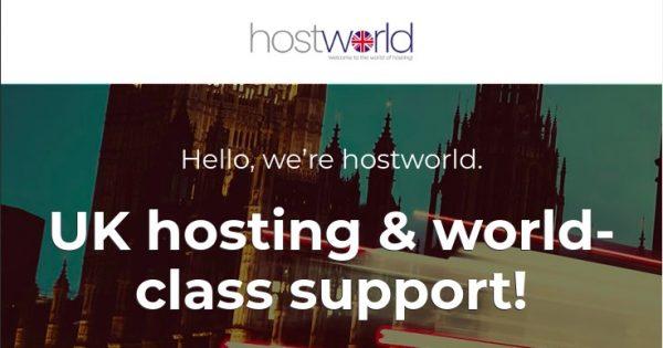 HostWorld – 特价机 KVM SSD VPS 最低 $4.61每月