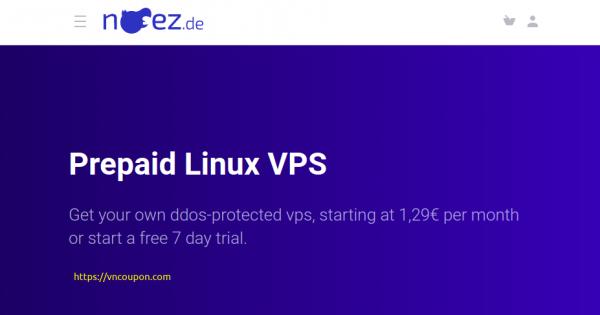 noez.de – 特价机 KVM/LXC VPS 最低 €3.50每月 hosted in Frankfurt/Germany