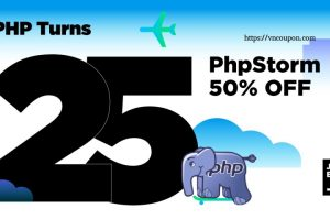 [Happy birthday PHP] PhpStorm is 优惠50% for the next 50 hours