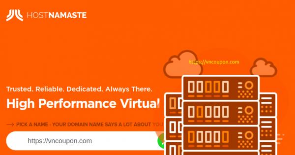 HostNamaste – OpenVZ VPS 特价机 最低 $20每年