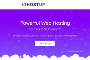 HostUP – Exclusive OpenVZ VPS 提供 最低 $27.30每年 hosted in the Netherlands