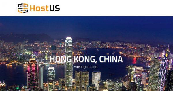 HostUS now offer 高性能 SSD KVM VPS in 香港 – 优惠15% 优惠券 Inside!