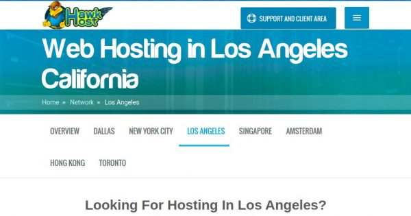Hawk Host – 优惠50% to celebrating 洛杉矶 Anniversary