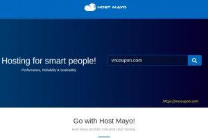 Host Mayo – 优惠50% SSD KVM VPS 最低 $2.5每月