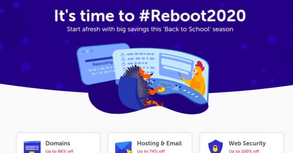 Namecheap 优惠券 & 优惠码 on 十月2020 – big savings this 'Back to School' season, 最高优惠86% .com, .net, .dev、more!
