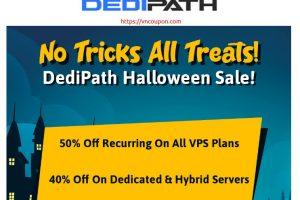 [Halloween 2020] DediPath – 优惠50% VPS & 优惠40% Dedicated
