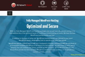 KnownHost – 优惠50% Fully Managed WordPress Hosting