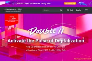 [11.11 Deals] Alibaba Cloud 2020 Double 11 Big Sale – Register、Receive $ 50 优惠券 – 优惠50% on top-selling products