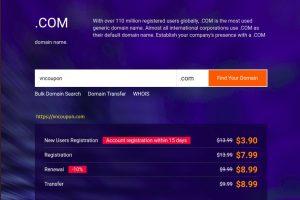 [Pre-黑色星期五 2020] Alibaba Cloud – $3.9 .COM 域名 Registration 限新客户