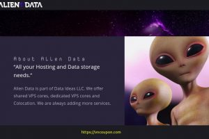 AlienData Birthday- 特价机 Ryzen VPS 最低 $2.50每月 – Xeon Storage VPS 最低 $5.00每月