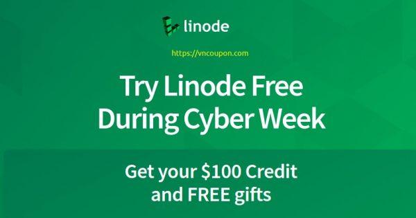 [黑色星期五 2020] Linode Cyber Week Deals – Get your $100 Credit、免费gifts