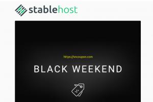 [黑色星期五 2020] StableHost – 优惠80% on all 虚拟主机套餐
