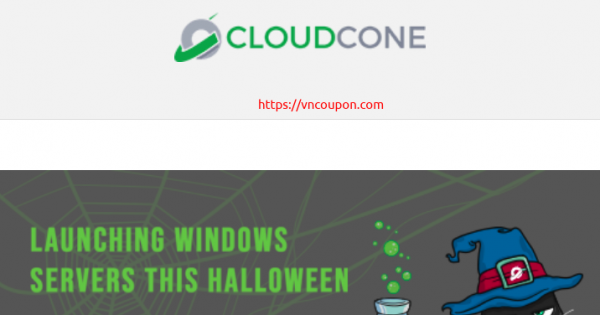 CloudCone – Exclusive Windows 云服务器 提供 – 优惠20% in the first month!
