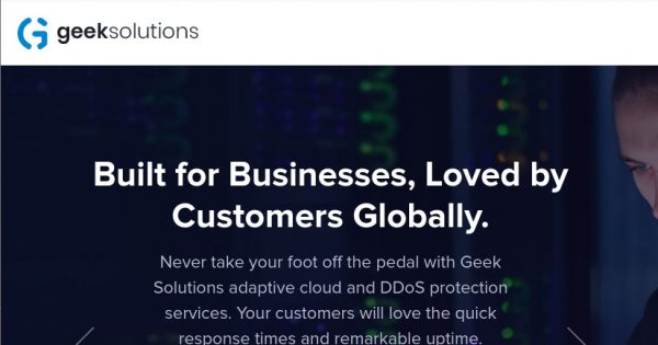 Geek Solutions – 优惠50% 纽约 分销型虚拟主机 最低 $3.5每月, 100% 免费DDoS防护