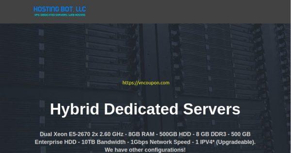 [Pre-黑色星期五 2020] Hosting Bot – 优惠35% 永久  KVM VPS in 洛杉矶 – 10Gbps Network Port