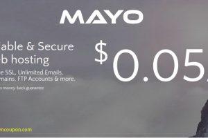 Mayo Host – 特价机 SSD 虚拟主机 最低 $3每年