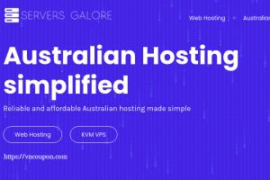 Servers Galore – 优惠50% Lifetime 虚拟主机 & KVM VPS in Melbourne,悉尼