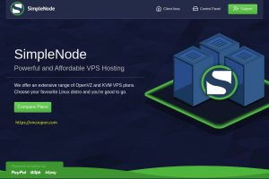 SimpleNode –  优惠50% Storage VPS 最低 $5每月 in Dallas, TX