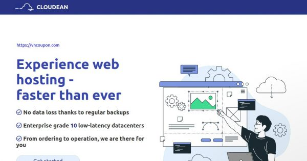 Cloudean – Cheap 虚拟主机 & WordPress Hosting! 最低 €0.998每月