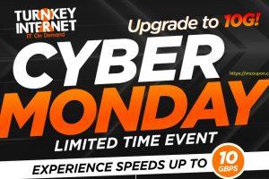 TurnKey Internet Extend 黑色星期五 / 网络星期一节日 Deals – 10Gbps 独服 @ $59每月 (优惠70%)