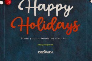 [New Year 2021] DediPath圣诞节 + New Year Specials – 优惠45% VPS 最低 $11每年