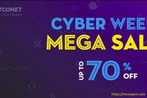 FastComet Cyber Week Mega Sale – 最高优惠70%