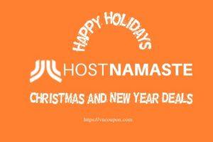 [Xmas 2020] HostNamaste圣诞节、New Year Deals – OpenVZ VPS 最低 $10每年、KVM VPS 最低 $15每年