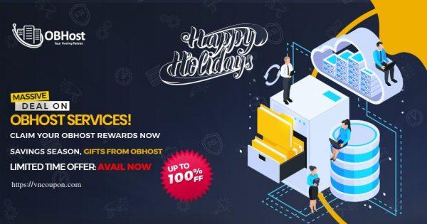 OBHost Holilday Sale – Top deals for 虚拟主机, KVM/OpenVZ VPS、SSL!
