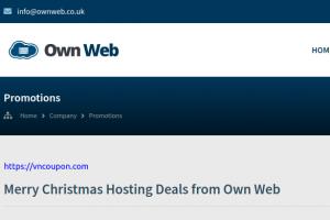 [Xmas 2020] Own Web – VPS & 独服 优惠信息 最低 $22每年