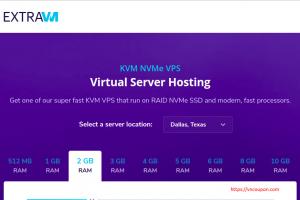 ExtraVM – 特价机 16GB内存KVM VPS 仅 $16每月 in France