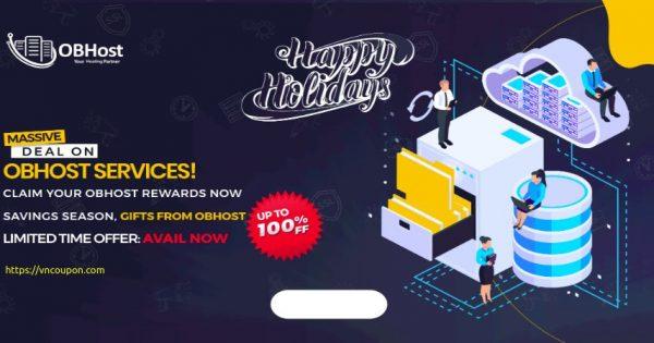 [Holiday Deals] OBHost – 优惠50% VPS, 优惠40% 虚拟主机