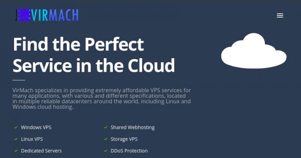 VirMach – 特价机 NVMe Ryzen VPS 最低 $38/2Year – 1TB HDD Storage VPS 最低 $80/2Year