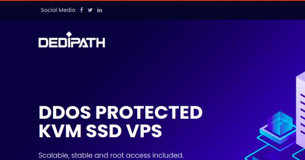 DediPath – 优惠45% OpenVZ, KVM、Hybrid Servers 最低 $11每年 located in Dallas