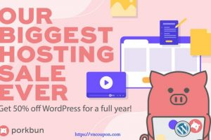 [Flash Sale] Porkbun – 优惠50% WordPress Hosting for 首年! Try it 15 days