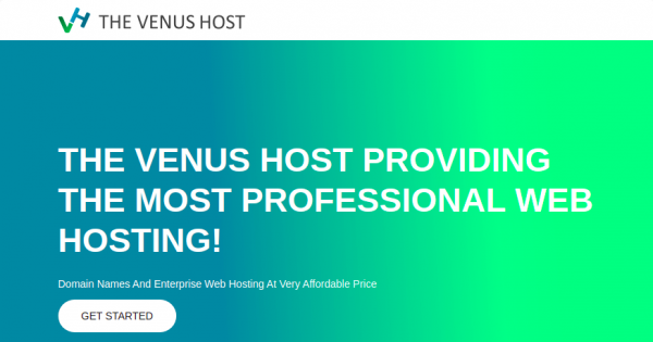 The Venus Host – 特价机 虚拟主机 仅 $2.44每月!