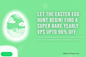 [Easter Egg Hunt 2021] CloudCone Rare VPS 提供 最高优惠96%