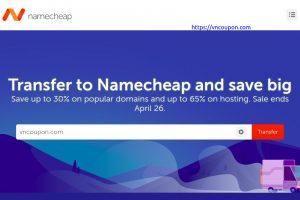 Namecheap 流量 Week Sale – Save 最高30% on popular 域名、最高65% on hosting