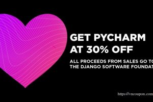 Support the Django Software Foundation by buying PyCharm at a 30%折扣