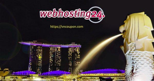 Webhosting24 – Ryzen NVMe VPS 提供  最低 15€每年 in Singapore