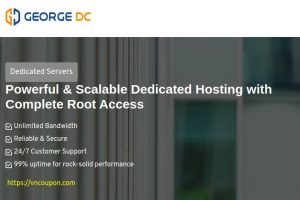George Datacenter 特价机 独服 提供 最低 $39每月