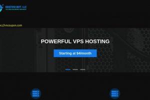 Hosting Bot – 10Gbps NVMe Ryzen VPS 提供 in 达拉斯 / 洛杉矶 / Jacksonville