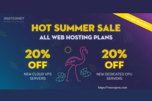 [夏季Sale] FastComet – 优惠70% New 虚拟主机