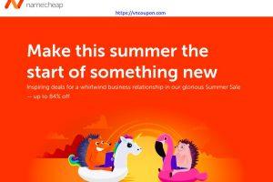 [夏季Sale] Namecheap – Save 最高优惠84% 域名 & 优惠62% on 虚拟主机 + A 免费域名