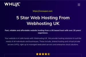 (WHUK) WebHosting UK – 优惠50% All 虚拟主机 on 七月2021