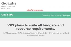 [End of 夏季 Cloudxtiny – 特价机 KVM VPS 最低 1.50英镑每月