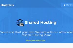 HostSlick – 特价机 Shared & 分销型虚拟主机 Deals 最低 €0.5每月
