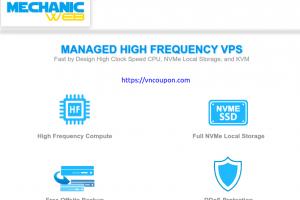 MechanicWeb – Save 最高$30 一次性折扣 on Fully Managed VPS